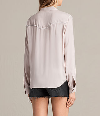 Mujer Camisa Adrienne (NUDE PINK) - product_image_alt_text_3
