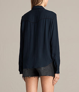 Womens Adrienne Shirt (MYSTIC BLUE) - product_image_alt_text_3