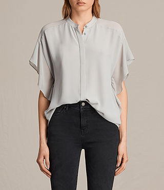 mila sheer shirt