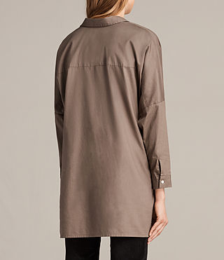 Womens Valdes Shirt (Khaki Green) - Image 3
