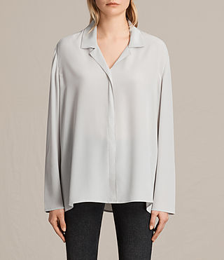 Damen Via Shirt (STORM GREY) -