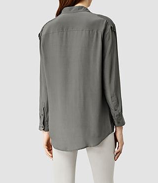 Damen Octavia Shirt (Slate Grey) - product_image_alt_text_3