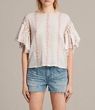 aviana embroidered top