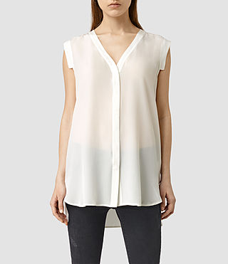 Womens Eryn Shirt (Chalk White)