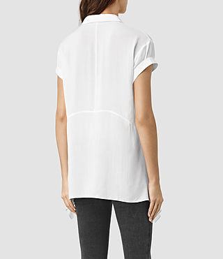 Womens Cheyne Shirt (Chalk White) - product_image_alt_text_3