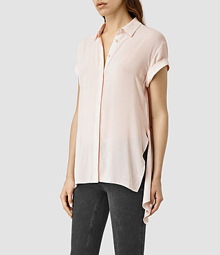 Womens Cheyne Shirt (CAMI PINK) - product_image_alt_text_1