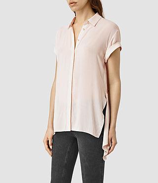 Mujer Cheyne Shirt (CAMI PINK)