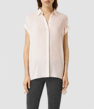 Women's Cheyne Shirt (CAMI PINK) - product_image_alt_text_2