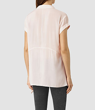 Women's Cheyne Shirt (CAMI PINK) - product_image_alt_text_3
