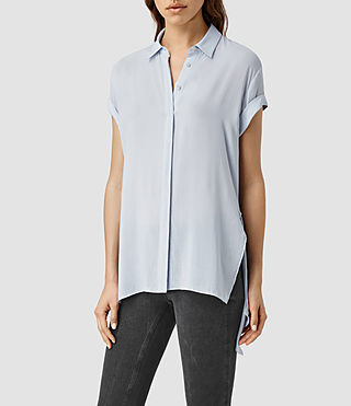 Womens Cheyne Shirt (SEAFOAM BLUE)