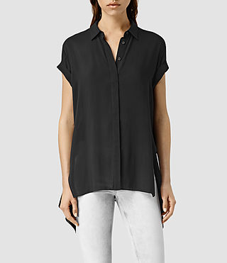 Women's Cheyne Shirt (Black) -