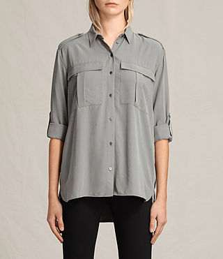 Womens Millie Shirt (Khaki Green)