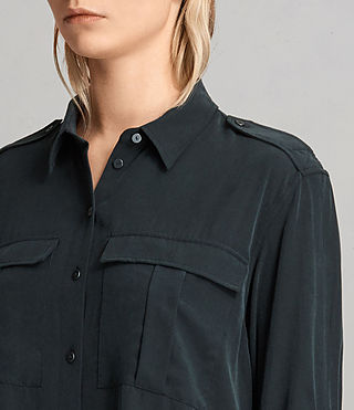 Women's Millie Shirt (Black) - product_image_alt_text_2