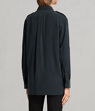 Womens Millie Shirt (Black) - product_image_alt_text_4