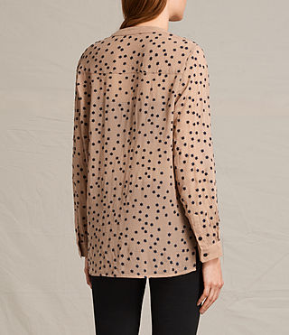 Damen Picolina Embroidered Shirt (CARAMEL BROWN) - product_image_alt_text_4