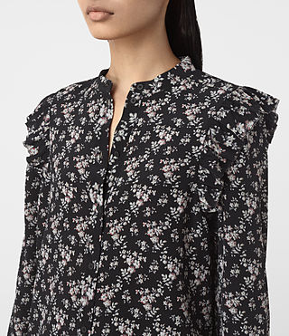 Mujer Edin Nevin Shirt (Black) - product_image_alt_text_2
