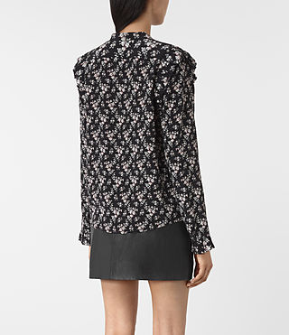 Mujer Edin Nevin Shirt (Black) - product_image_alt_text_4