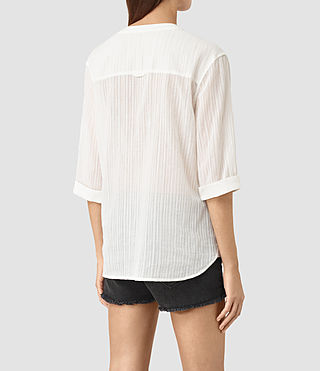 Mujer Wairyn Shirt (Chalk White) - product_image_alt_text_4