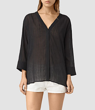 Women's Wairyn Shirt (Black)