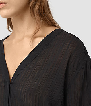 Damen Wairyn Shirt (Black) - product_image_alt_text_2