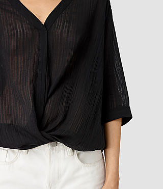Damen Wairyn Shirt (Black) - product_image_alt_text_3