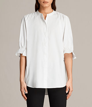 Womens Joanna Shirt (Chalk White) - Image 1