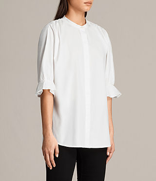 Womens Joanna Shirt (Chalk White) - Image 3