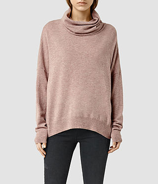 Womens Parri Sweater (ROSE PINK)