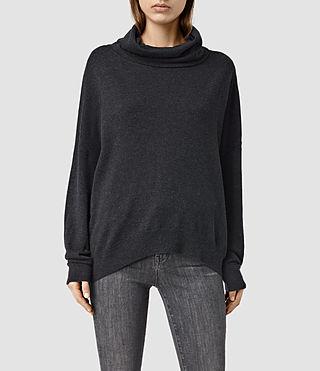 Womens Parri Sweater (CinderBlackMarl)