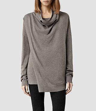 Womens Verney Sweater (Fawn Marl)