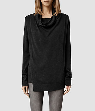 Womens Verney Sweater (Cinder Marl)