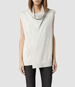 Womens Verney Tank (Oyster)