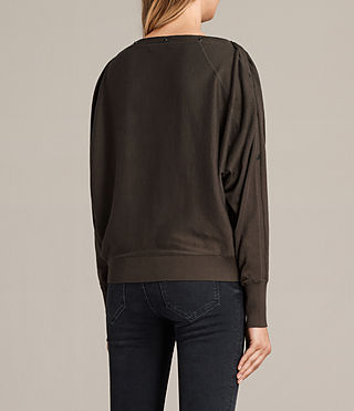 Damen Elle Jumper (Khaki Green) - product_image_alt_text_5