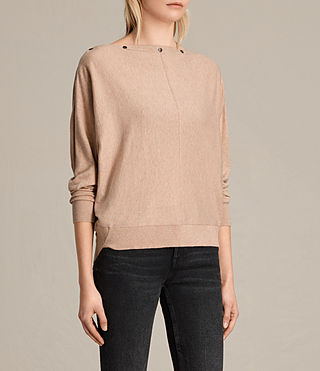 Womens Elle Sweater (ROSE PINK) - product_image_alt_text_2