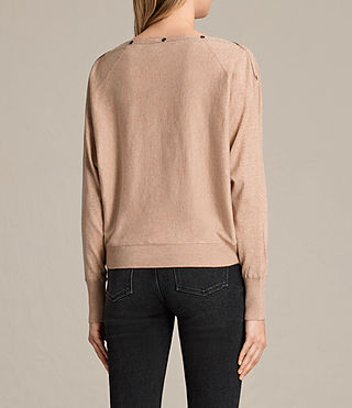 Womens Elle Sweater (ROSE PINK) - product_image_alt_text_3
