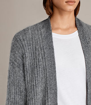 Donne Cardigan Ade (Grey Marl) - product_image_alt_text_2