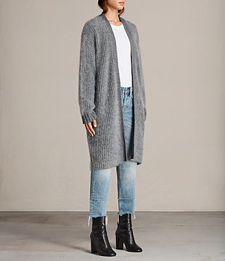 Donne Cardigan Ade (Grey Marl) - product_image_alt_text_3