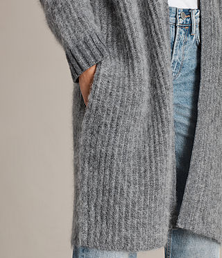 Donne Cardigan Ade (Grey Marl) - product_image_alt_text_4