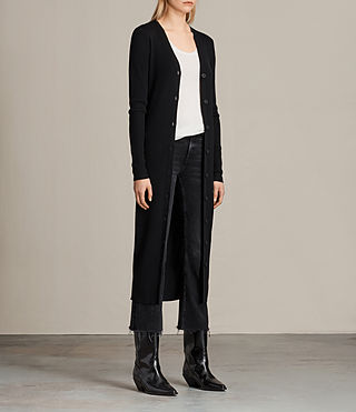 Mujer Cardigan Lavine (Black) - product_image_alt_text_2