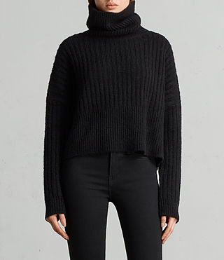 Women's Pico Jumper (Black) - Image 1