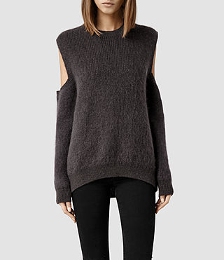 Womens Haff Sweater (Slate)