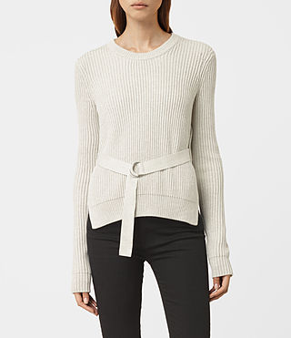 Womens East Jumper (MIST GREY) - product_image_alt_text_1