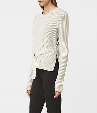 Womens East Jumper (MIST GREY) - product_image_alt_text_2
