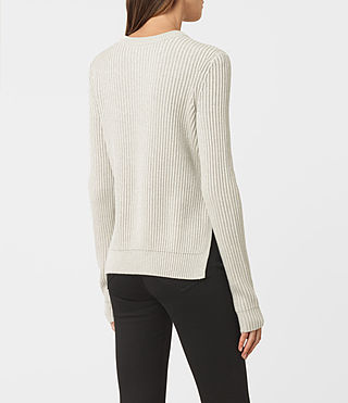 Womens East Jumper (MIST GREY) - product_image_alt_text_3