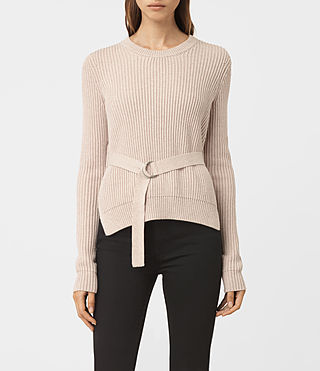 Womens East Sweater (Sandstone Pink)