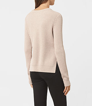 Womens East Sweater (Sandstone Pink) - product_image_alt_text_3