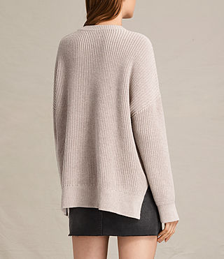 Womens Aria Laced Sweater (NUDE PINK) - product_image_alt_text_4