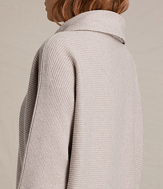 Mujer Rio Roll Neck Jumper (QUARTZ PINK MARL) - product_image_alt_text_2