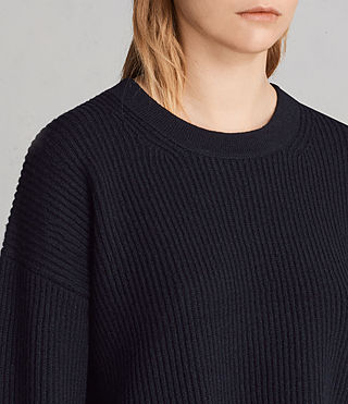 Womens Sura Sweater (Ink Blue) - Image 2