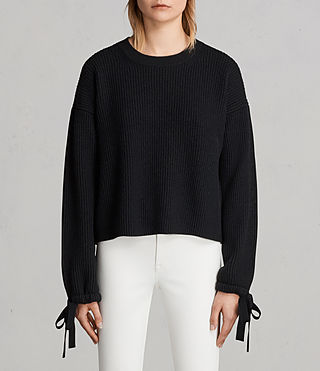 Womens Sura Sweater (Black) - Image 1
